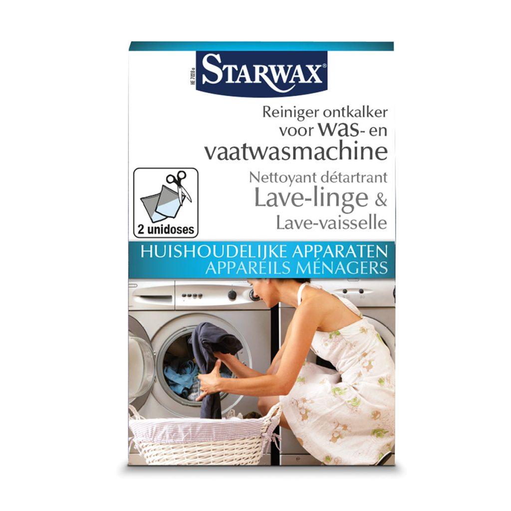 Reiniger ontkalker voor was en vaatwasmachine