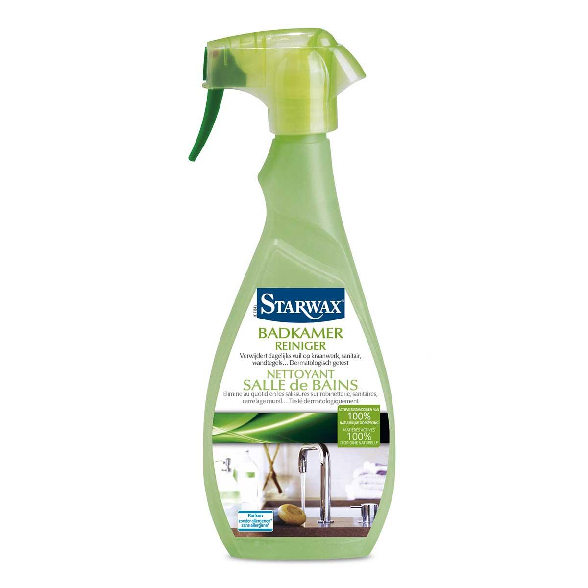 Badkamer reiniger actieve bestanddelen natuurlijke oorsprong - Starwax