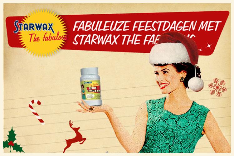 Fabuleuze feestdagen met Starwax The fabulous