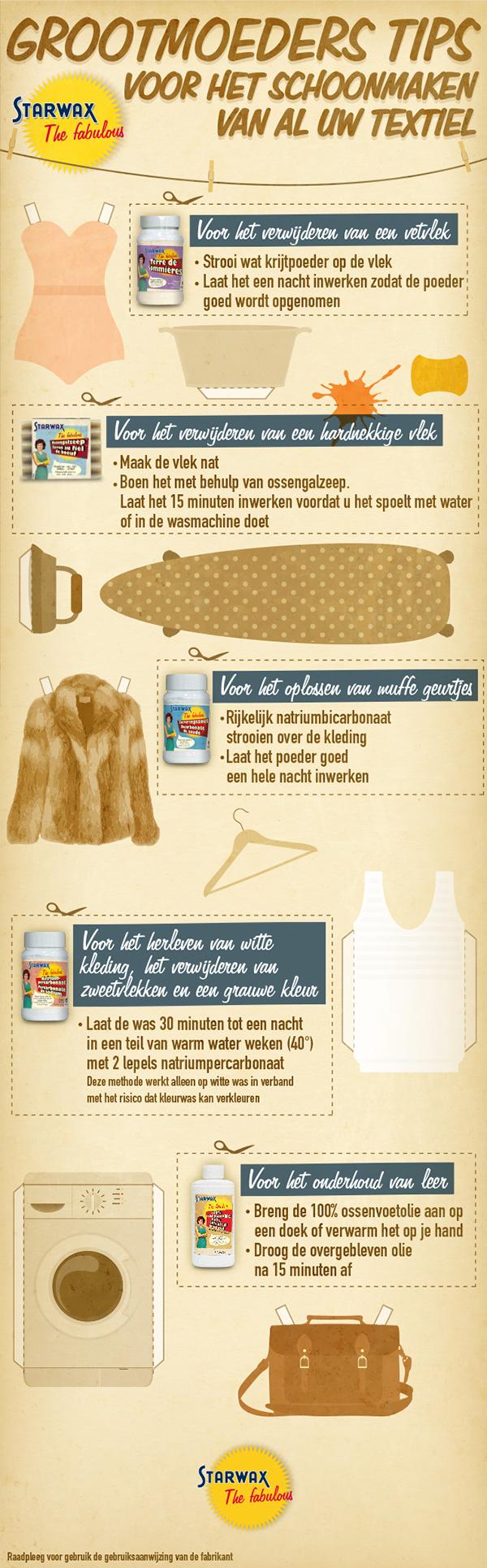 olievlekken verwijderen uit kleding