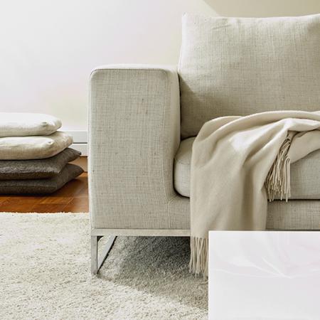 Textiel op meubels